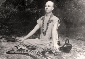 3-Bapuji-meditating-on-tiger-skin