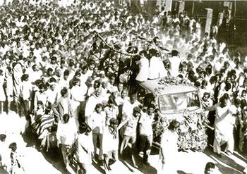 Bapuji's Funeral Procession
